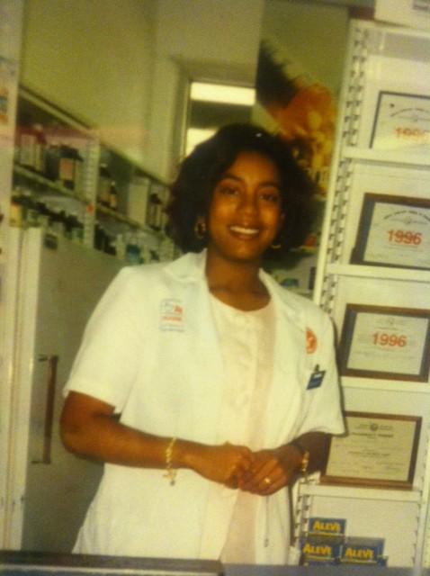 young pharmacist Katina